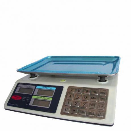Торговые весы Wimpex 50кг с металлическими кнопками 5003