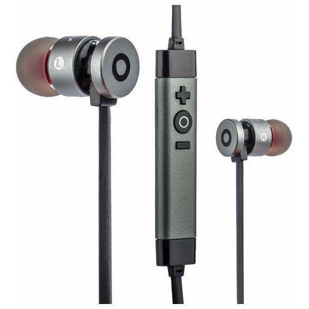 Bluetooth наушники Aspor A611 серые