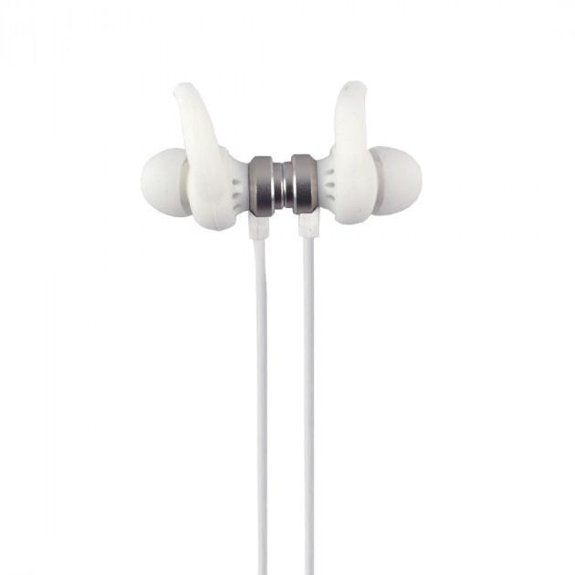 Наушники Aspor A615 magnet белые Bluetooth