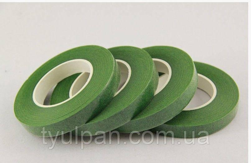 Тайп лента для флористики светло зеленая