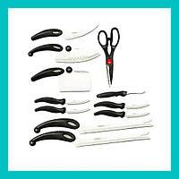 Набор кухонных ножей Miracle Blade 13in1!Опт