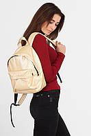 Золотой рюкзак mini Street из кожзама