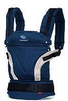 Ергономічний слінг-рюкзак  manduca First Navy (синій).