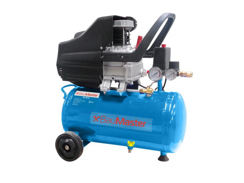 Воздушный компрессор AC-9315 BauMaster, 24 л,  210 л/мин, 1,5 кВт