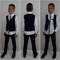 Качественный, элегантный костюм-двойка для мальчика