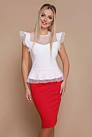 Оригинальная женская блуза, фото 1