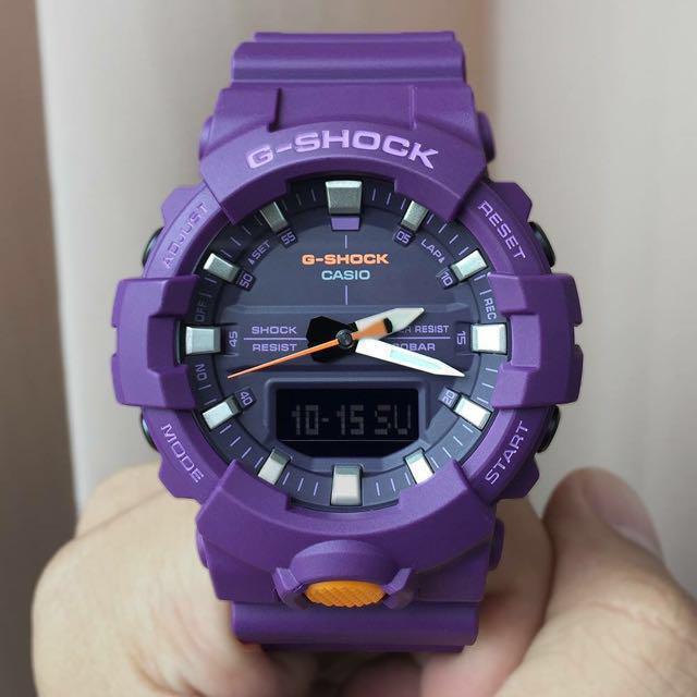 Часы Casio G-Shock GA800SC-6A