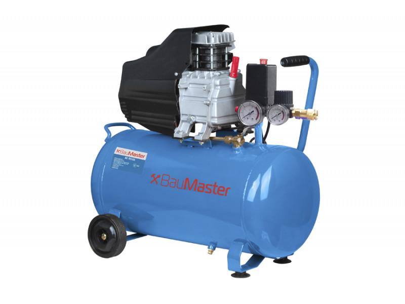 Воздушный компрессор BauMaster AC-93155, 50 л, 210 л/мин, 1.5 кВт