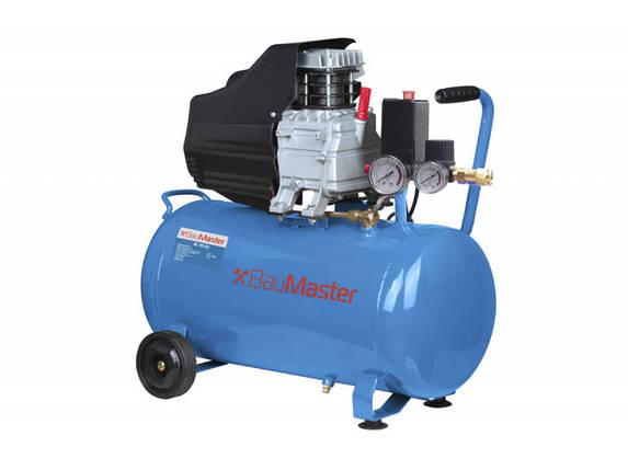 Воздушный компрессор BauMaster AC-93155, 50 л, 210 л/мин, 1.5 кВт, фото 2