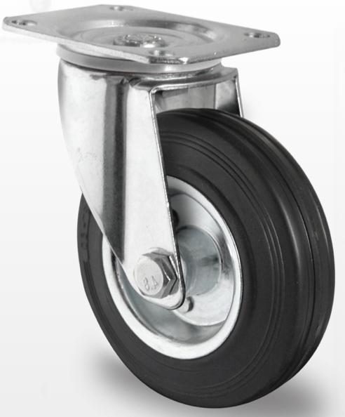Колеса с кронштейнами (поворотные/поворотные с тормозом)