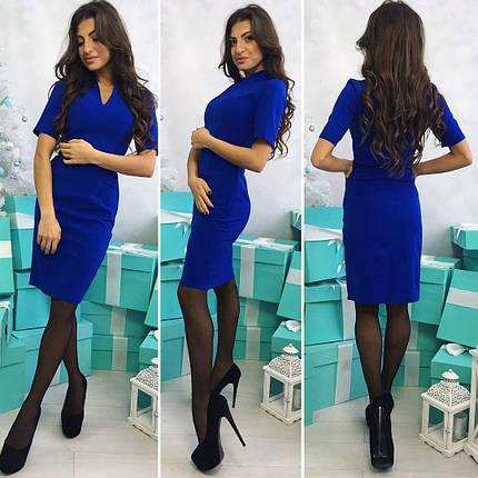 Платье футляр миди длины, фото 2