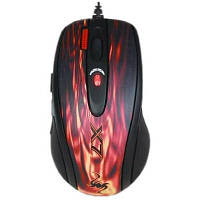 Мышка A4tech XL-750BK red fire, фото 1