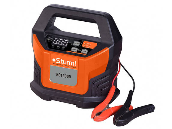 Пуско-зарядное устройство (12В, 18А) Sturm BC12300 , фото 2