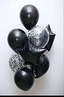 Фонтан шаров черных в Днепре