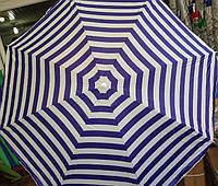 Зонт пляжный 1.8 м с наклоном и напылением и клапаном