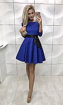 Женское платье красного цвета, фото 3
