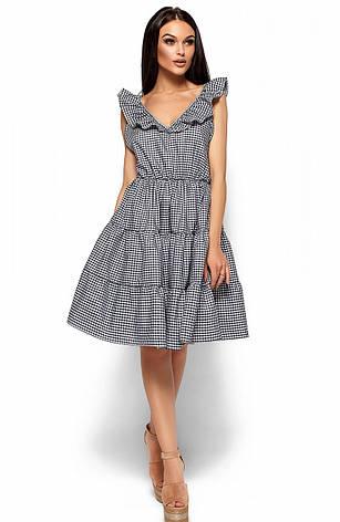 Женское платье с открытой спиной, черное, р.42-48, фото 2