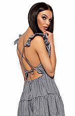 Женское платье с открытой спиной, черное, р.42-48, фото 3
