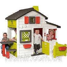 Дом садовый детский игровой для друзей Smoby 310209