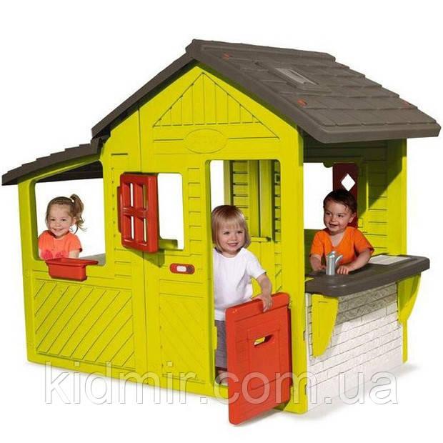 Детский игровой домик Neo Floralie Smoby 310300