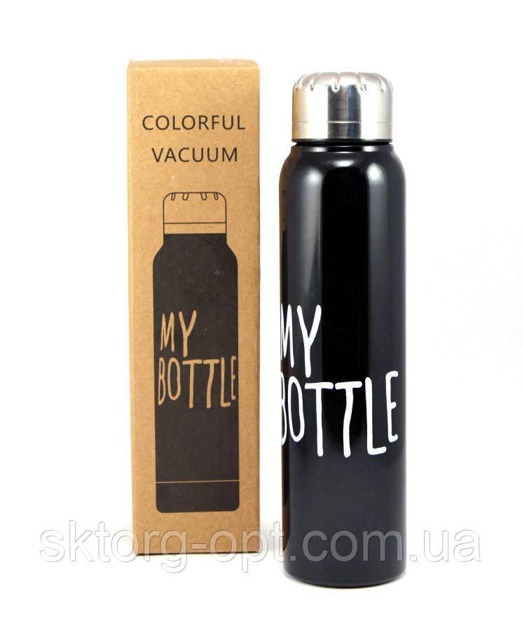 Вакуумный термос My Bottle 350ml Черный