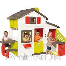 Великий ігровий будинок з кухнею для друзів Smoby 810200