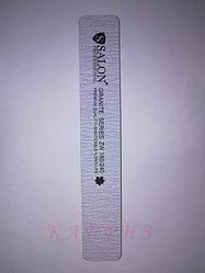 Пилка для ногтей Salon Professional 180х240, широкая прямая.