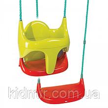 Качель детская подвесная на тросах  2 в 1 Smoby 310194