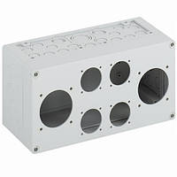 Корпус для установки штепсельных розеток AKi1-2L