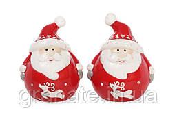 """Набор для специй """"Санта"""" солонка и перечница 7.5 см (4 набора в упаковке)"""