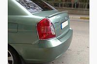 Спойлер багажника ( лип спойлер, сабля ) Hyundai Accent 2006-2011 г.в. Хюндай Акцент