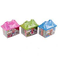 Набор детский для лепки пластилином (моделин) ''Домик''.