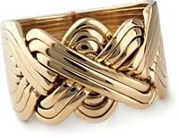 Мужской перстень из желтого золота от WickerRing