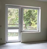 Балконный блок Rehau 60