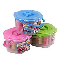 Набор детский для лепки пластилином (моделин) ''Часики''