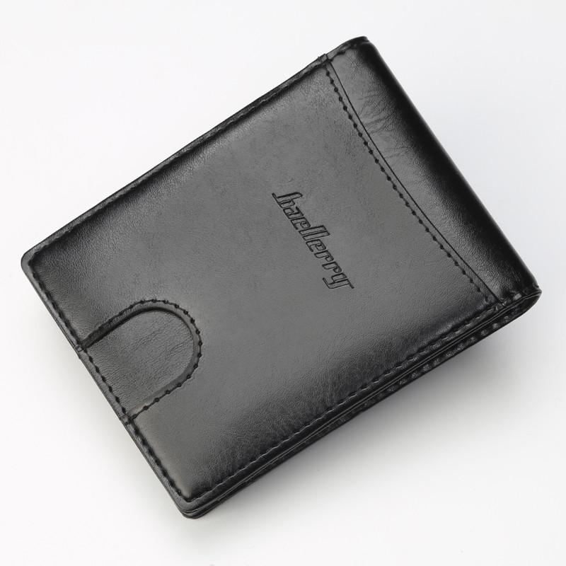 Мужской кошелек BAELLERRY Clip Зажим для денег Черный (SUN1158)