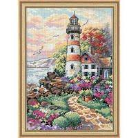 Набор для вышивания крестом Маяк на рассвете/Beacon at Daybreak DIMENSIONS 06883