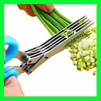 Ножницы для зелени с 5 лезвиями!Опт