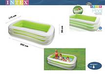 Надувной детский бассейн Intex56483 размер 262*175*56 см, фото 2