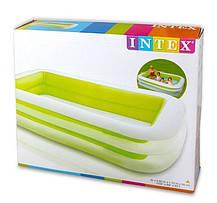 Надувной детский бассейн Intex56483 размер 262*175*56 см, фото 3
