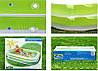 Надувной детский бассейн Intex 56483 размер 262*175*56 см, фото 2