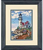 Набор для вышивания крестом Маяк/Beacon at Rocky Point DIMENSIONS 06958