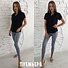 Женский костюм: кофта с джинсами, в расцветках. ПР-14-0618, фото 3
