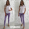 Женский костюм: кофта с джинсами, в расцветках. ПР-14-0618, фото 5