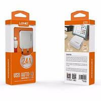 Адаптер LDNIO A2201 (2USB-порта) + кабель micro USB