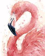 "Картина по номерам ""Фламинго"" 40 х 50 см, С Коробкой"