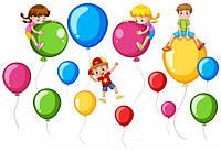 Фотозоны. Примеры оформления дня рождения, корпоратива, крестин. Наборы гелиевых шаров.