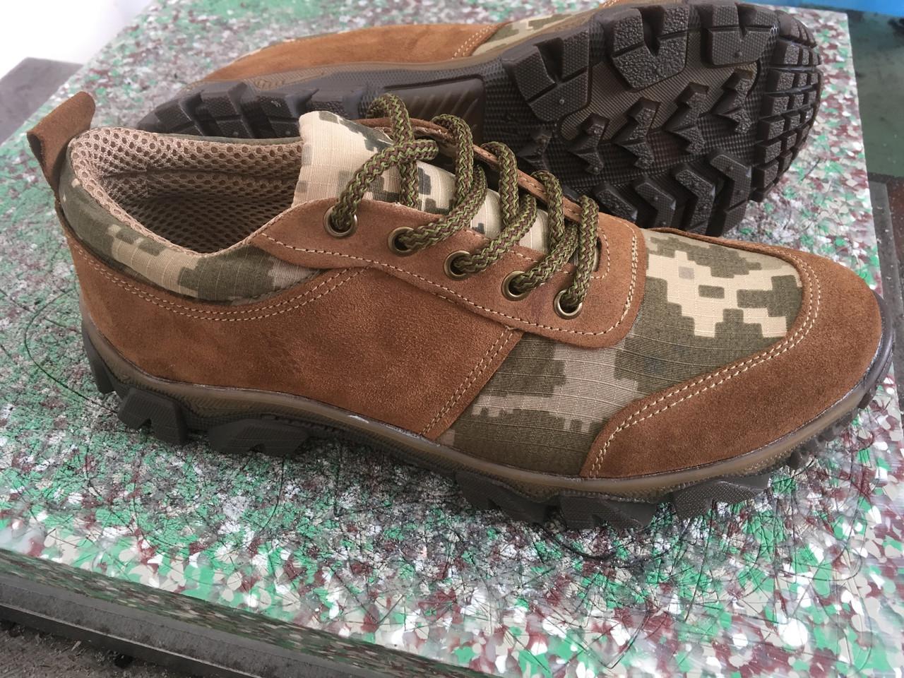 Тактические кроссовки из натуральной кожи РА - Альфа 01