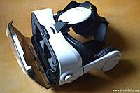 Очки виртуальной реальности с наушниками к смартфону + манипулятор