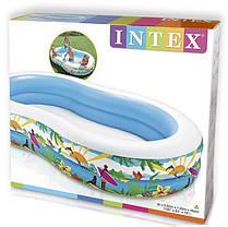 Надувной детский бассейн Intex 56490 размер 262*160*46 см, фото 2